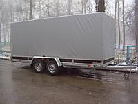 Прицеп Сантей 3400-01 двухосный с тормозами, оцинкован