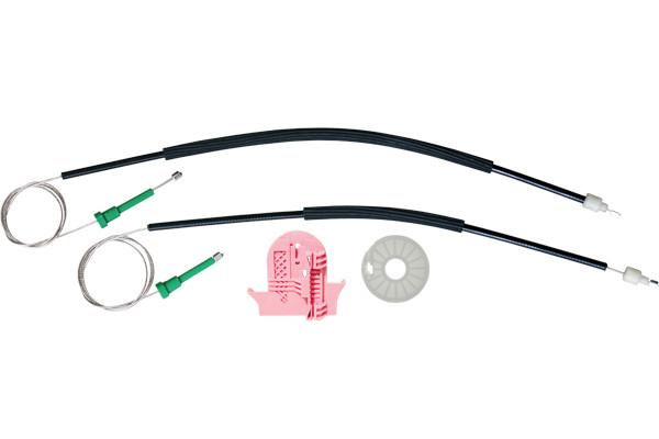 Ремкомплект механизма стеклоподъемника задней правой двери Ford Mondeo 4 2007-2015