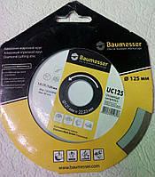 Алмазный диск, для резки плитки без сколов, Baumesser Universal ceramics 125x1,9x5x22,23 (сухой рез)