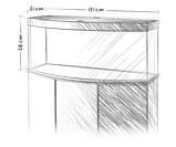 Аквариум большой Juwel (Джувел) VISION 450 LED с выгнутым стеклом, коричневый 450 литров, фото 2