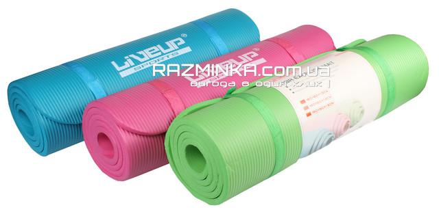 Коврик для йоги каучук NBR 12мм, каучуковый коврик для йоги