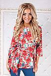 Женский модный костюм: блуза с баской и брюки (2 цвета), фото 9