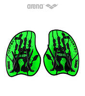 Силовые лопатки для плавания Arena Vortex Evo (Acid Lime), фото 1