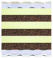 Матрас Неаполь латекс-кокос 120х200