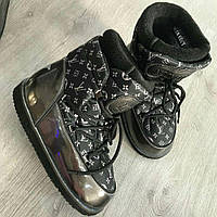 Женские сапоги Moon boot Louis Vuitton
