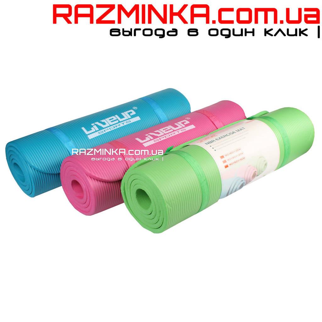 Каучуковый коврик для йоги NBR 12мм