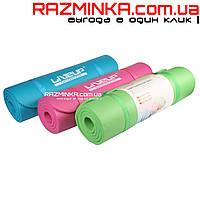 Коврик для йоги каучук NBR 12мм