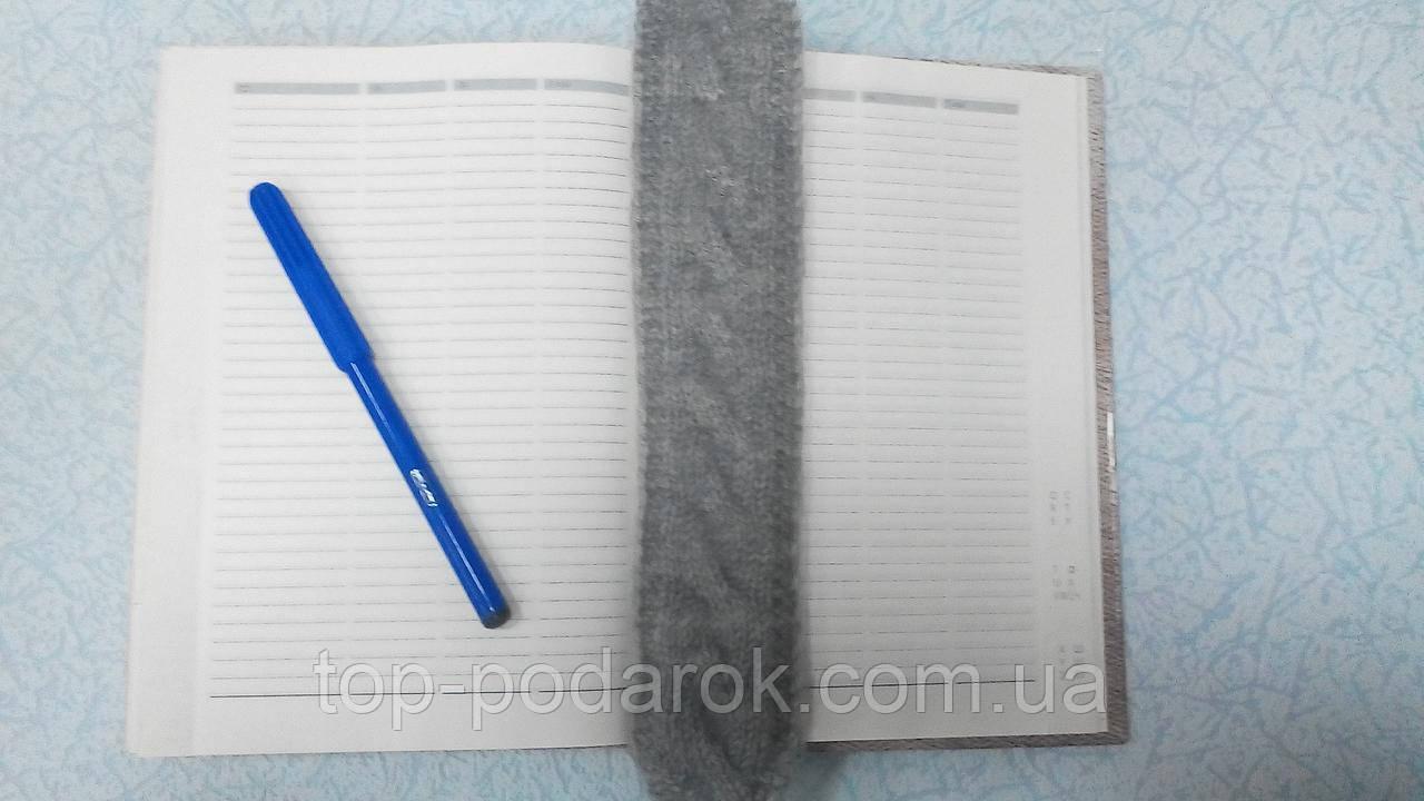Вязанная закладка для книги
