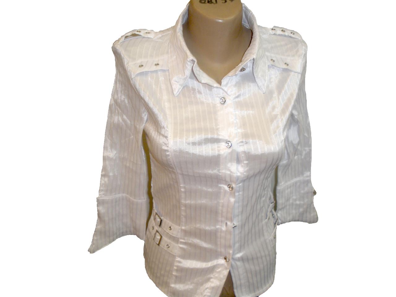 Блуза с погоном