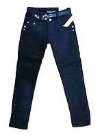 Теплые брюки для девочки на флисе