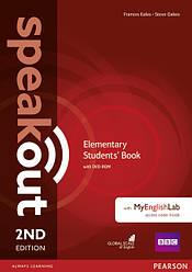 Speakout 2nd Elementary SB+DVD with MyEnglishLab