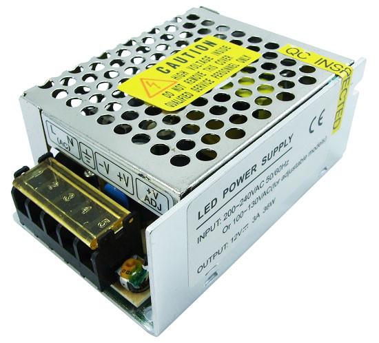 Блок живлення JLV-12036K 12вольт 3а IP20 JINBO 3034