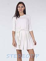 Платье Lablab Облегающее, Белый