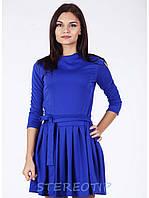 Платье Lablab Облегающее, Синий - электрик