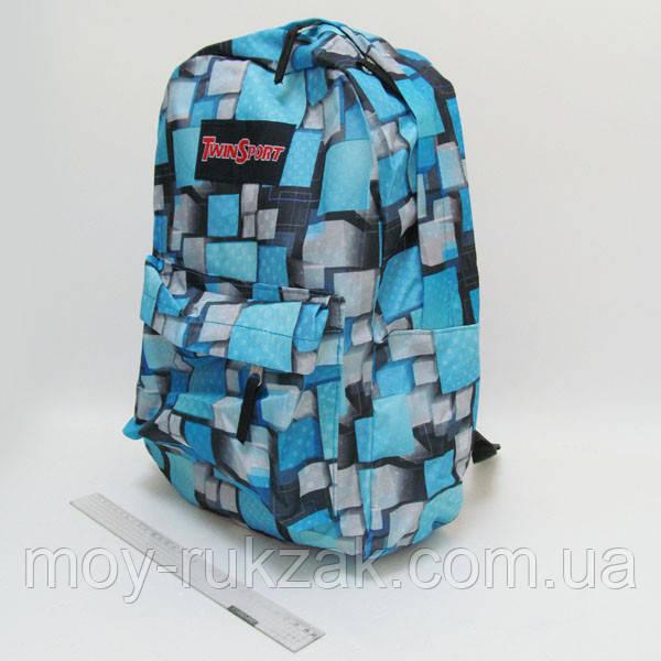 """Молодежный рюкзак с карманом Josef Otten """"Объемные квадраты"""""""