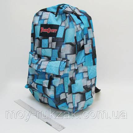 """Молодежный рюкзак с карманом Josef Otten """"Объемные квадраты"""", фото 2"""