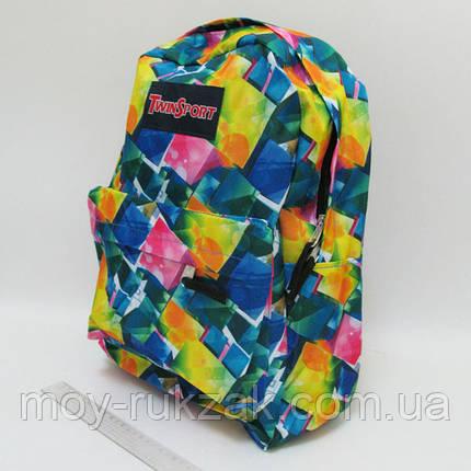 """Молодежный рюкзак с карманом Josef Otten """"Мозаика"""" , фото 2"""