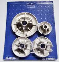 Комплект газовых горелок для плиты Ariston - Indesit C00053054