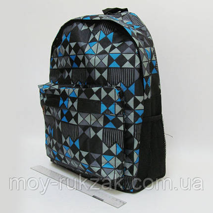 "Молодежный рюкзак с карманом Josef Otten ""Шахматка"" , фото 2"