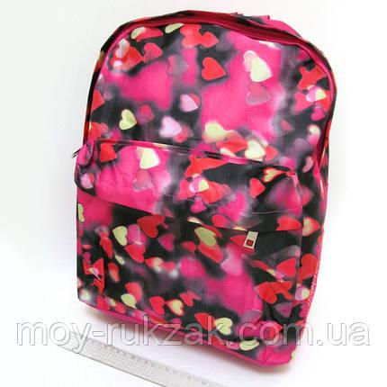 "Молодежный рюкзак с карманом Josef Otten ""Сердечки"" , фото 2"