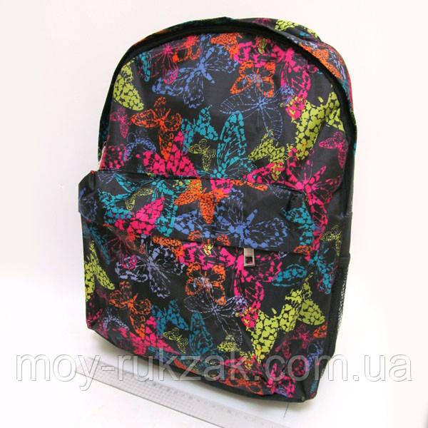 """Молодежный рюкзак с карманом Josef Otten """"Бабочки"""""""