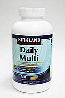 Мультивитамины и минералы  Daily Multi Kirkland Signature