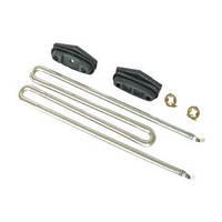 ТЭН 2100W для стиральной машины Miele (М-заготовка, комплект с резинками) 6260482