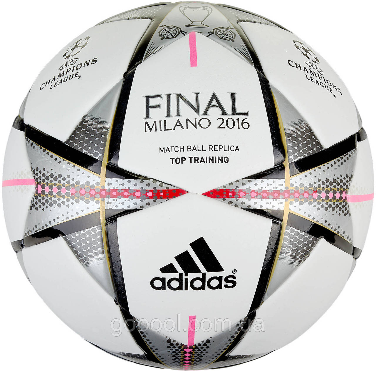 Футбольный мяч Adidas Finale Milano Top Training AC5496 - ГООООЛ›  спортивная и футбольная экипировка 8421f20464459