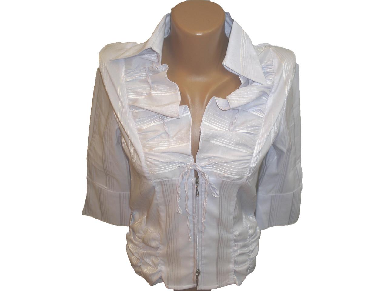 Блуза нарядная на змейке.