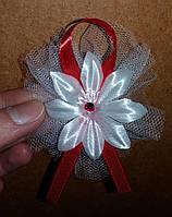 Свадебные цветочки для гостей (цвет - красный) Ц-г-3-кр-1