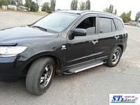 Защитные обвесы на авто Hyundai Santa Fe II (2 шт)