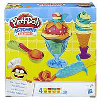 Плей-дох ігровий набір пластиліну Інструменти морозивника Play-Doh