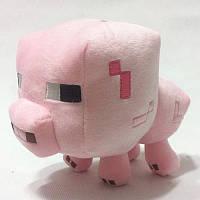 Мягкая игрушка Свинка из Майнкрафт minecraft