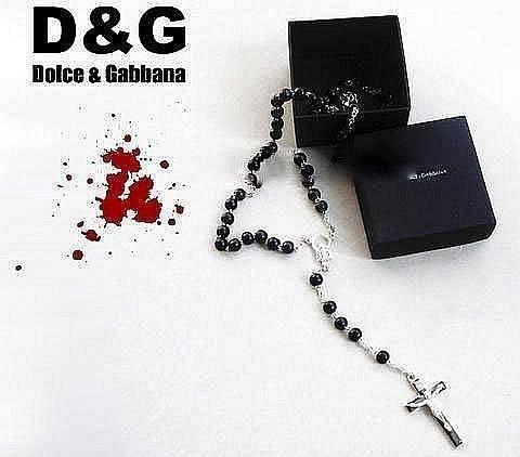 Крестик Dolce & Gabbana (David Beckham) + фирменная коробочка в подарок!!!, фото 2