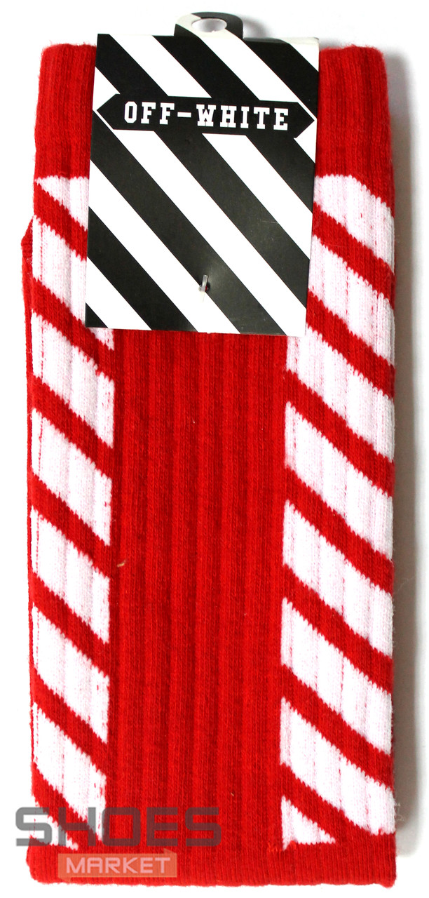 Носки Off-white Red