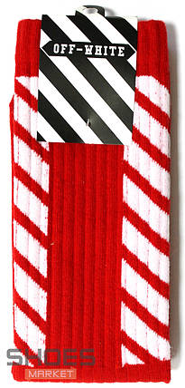 Носки Off-white Red, фото 2