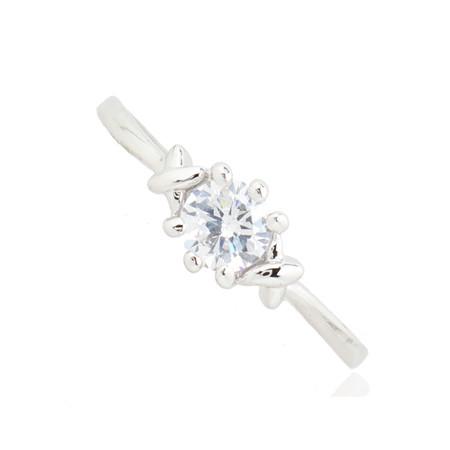 Кольцо с кристаллами Сваровски rs-15