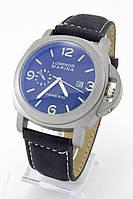 Мужские наручные часы Panerai Luminor Marina (титановый корпус, черный ремешок)