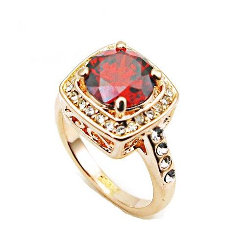 Кольцо с кристаллами Сваровски rs-6