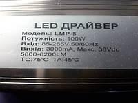 Драйвер для светодиодного прожектора 100W