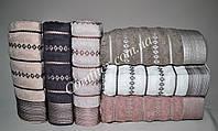 Набор махровых банных полотенец Saheser Towel Exclusiv Cotton Хлопок 70х140 (6шт.) - Турция