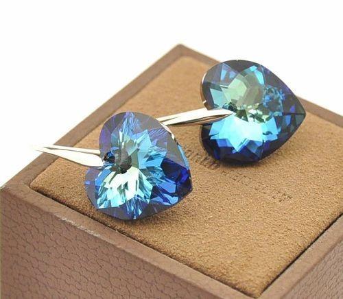 Серьги с кристаллами Сваровски es103