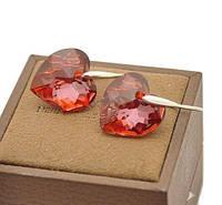 Серьги с кристаллами Сваровски es170