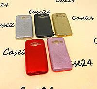 Переливающийся TPU чехол Sonic для Samsung Galaxy J1 mini SM-J105 (5 цветов)