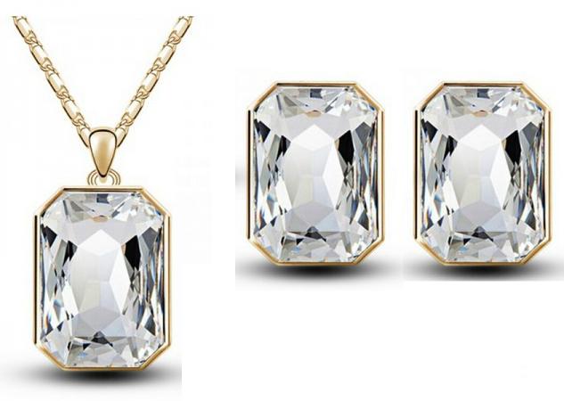 Комплект с кристаллами Сваровски kp15