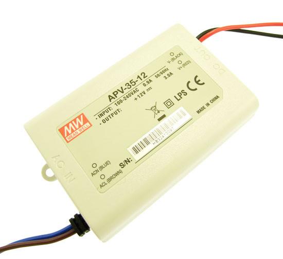 Блок живлення APV-35-12 12вольт 36вт IP20 4526