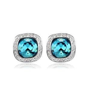 Серьги с кристаллами Сваровски es230