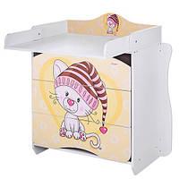 Детский комод-пеленальный столик 2 в 1 Metr+ MV-910-17