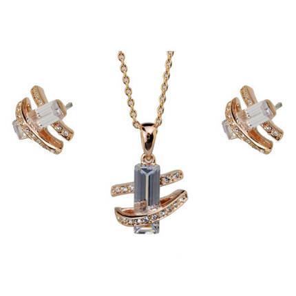 Комплект с кристаллами Сваровски kp18, фото 2