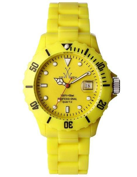 Часы TOY WATCH yellow
